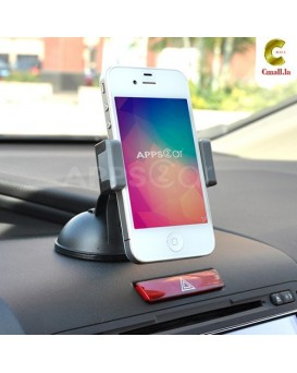 ຂາຈັບໂທລະສັບ K-S1 Suction-Clip Car Mount