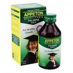 ອາເປຕັນ ຕູຣິນ ຊະນິດນໍ້າເຊື່ອມ Appeton Taurine Syrup