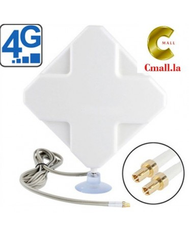 4G Antenna 35DBi Dual TS9 TS-9 Connector 2m cable for 4G Modem