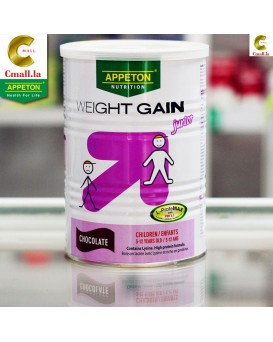 ນົມຕຸ້ຍ ອາເປຕັນ ເວດເກນ ສໍາລັບເດັກ Appeton Weight Gain for Children 900g