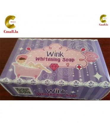 ສະບູຂັດຜີວໃຫ້ຂາວ Wink Whitening Soap