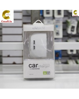 Car 2USB Car Charger + LED