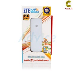 3G 21.6 AIRCARD ZTE (MF668, WHITE) TRI-BAND +SIM