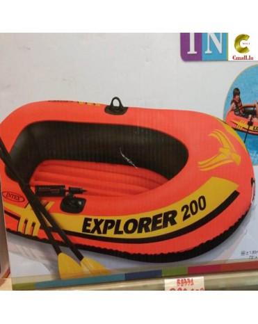 ເຮືອຢາງສູລົມ ຫຍີ້ຫໍ້ Intex ຮຸ່ນ Exporer200 ຂະໜາດ 1,85m x 94cm x 41cm