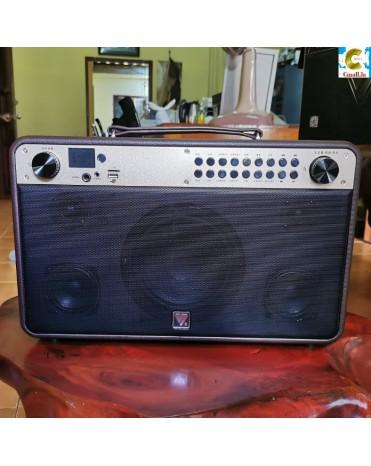 ລໍາໂພງ ບລູທູດ ລຸ້ນ Q9s Bluetooth Speaker You Sheng Stereo